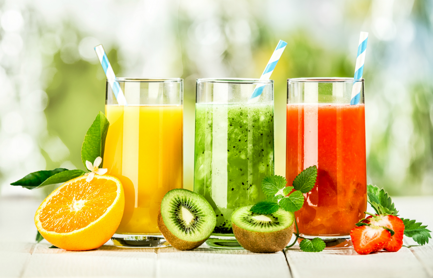 Fresh Juices Available